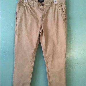 Banana Republic tan pants size 10